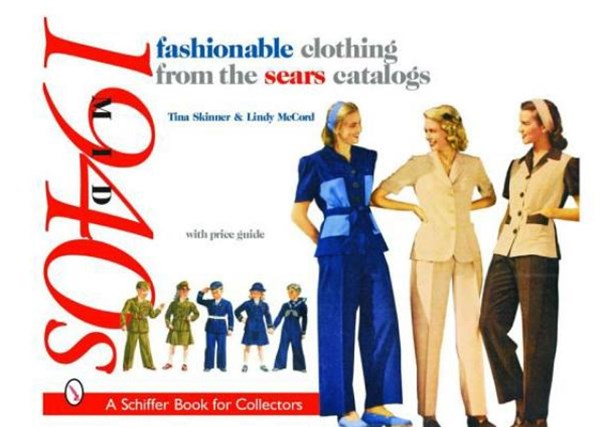 Fashionable Clothing from the Sears Catalogs:: Mid 1940s