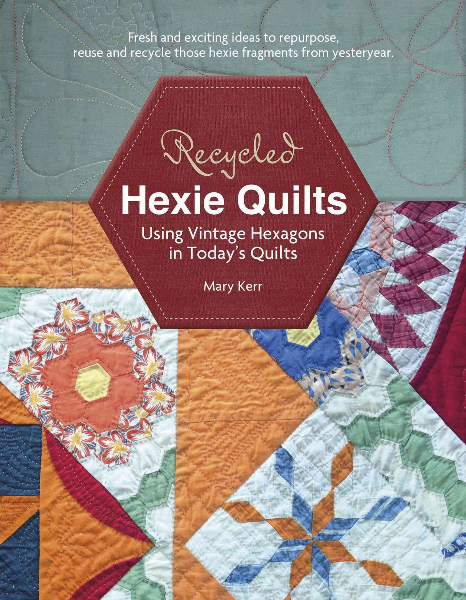 Recycled Hexie Quilts