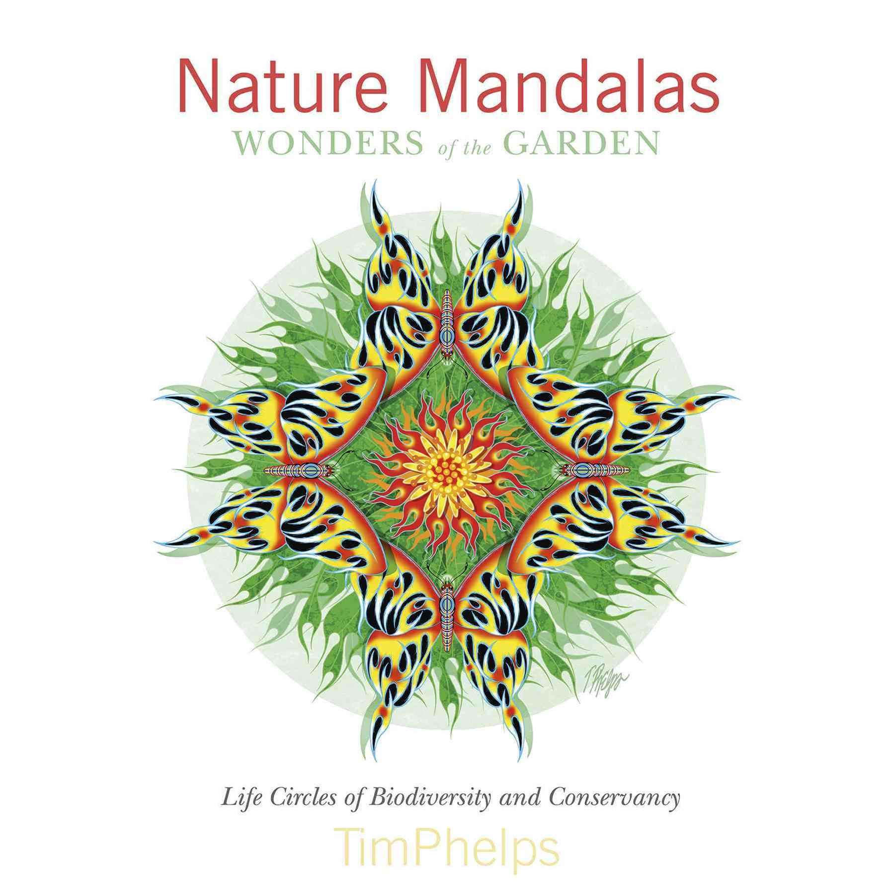 Nature Mandalas Wonders of the Garden