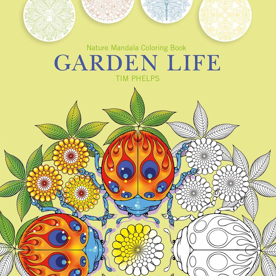 Garden Life: Nature Mandala Coloring Book