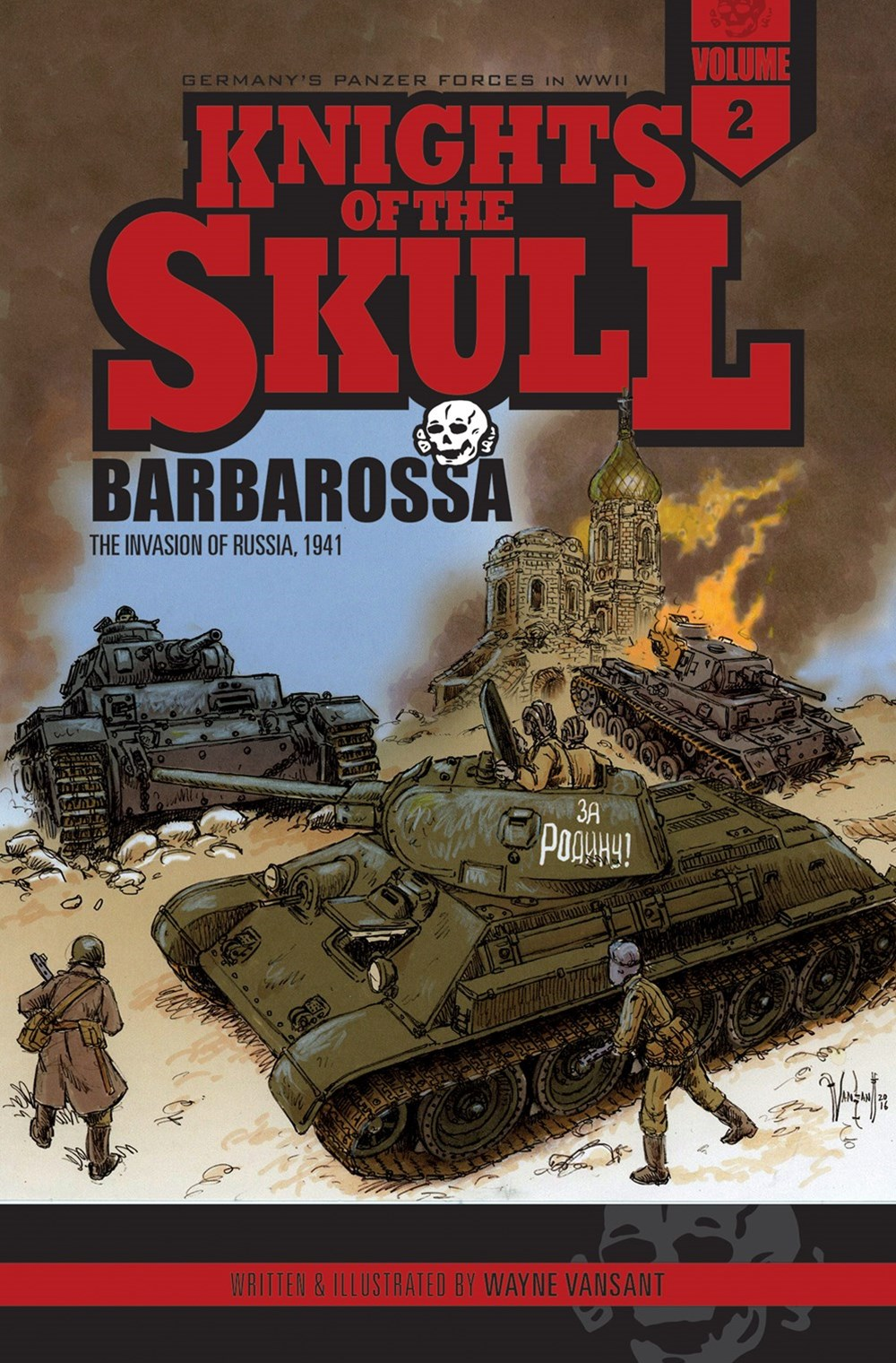 Knights of the Skull, Vol. 2: Germany's Panzer Forces in WWII, Barbarossa