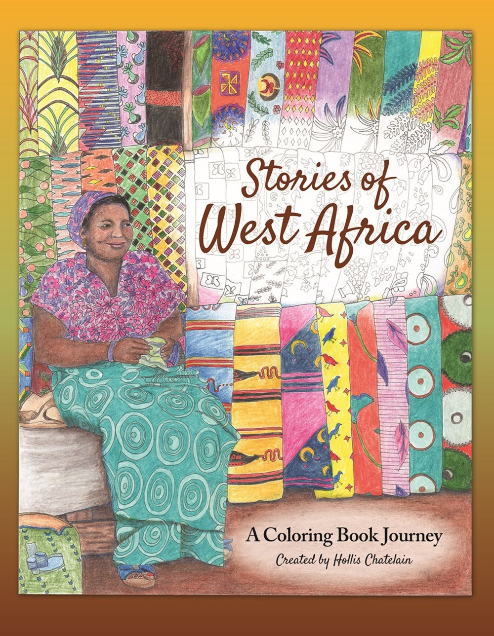Stories of West Africa: A Coloring Book Journey