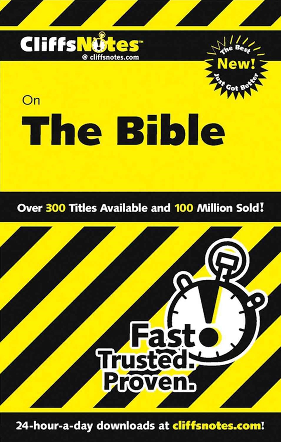 CliffsNotes on The Bible: Revised Edition