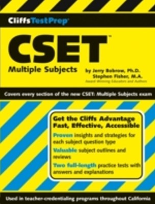CliffsTestPrep Multiple Subjects Assessment for Teachers Preparation Guide