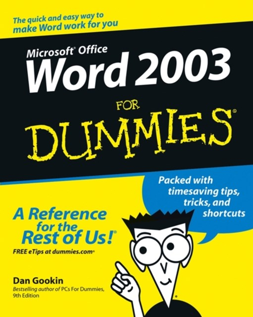 (ebook) Word 2003 For Dummies