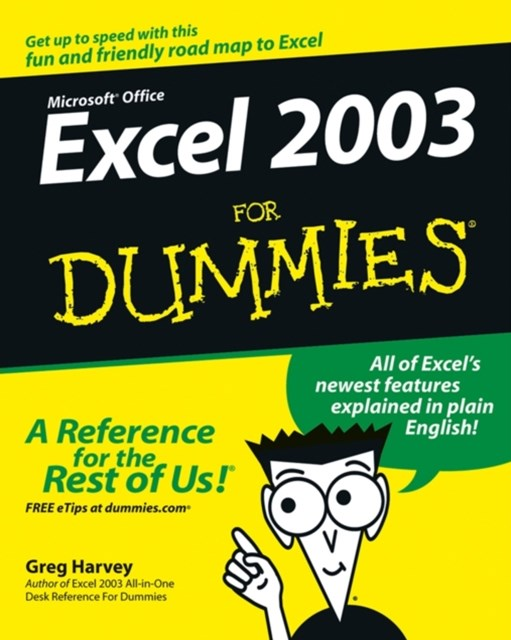 (ebook) Excel 2003 For Dummies