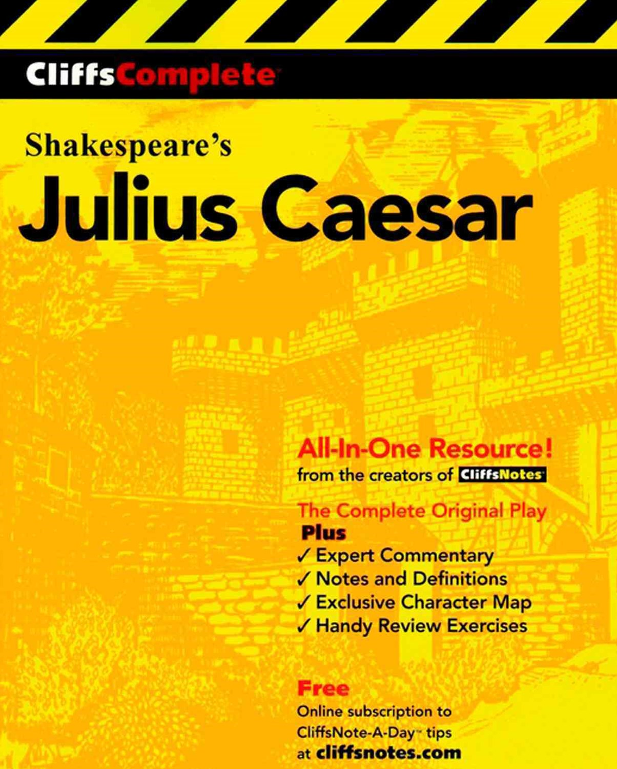 CliffsComplete Shakespeare's Julius Caesar