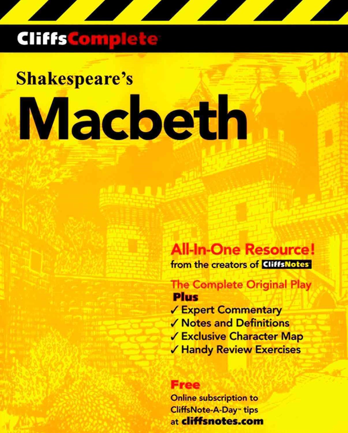 CliffsComplete Shakespeare's Macbeth