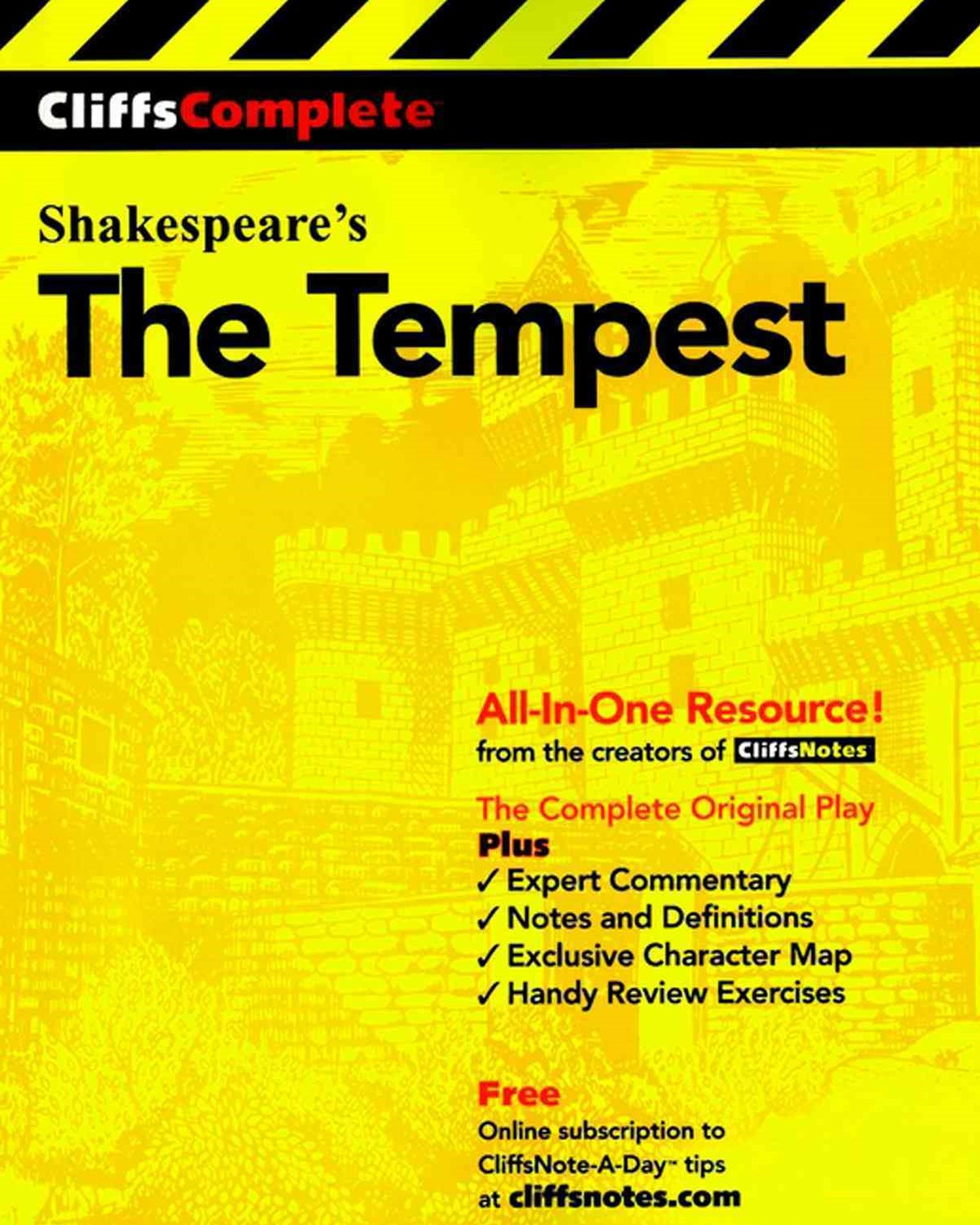 CliffsComplete Shakespeare's The Tempest