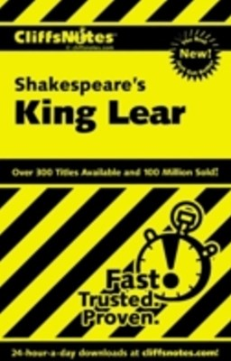 (ebook) CliffsNotes on Shakespeare's King Lear