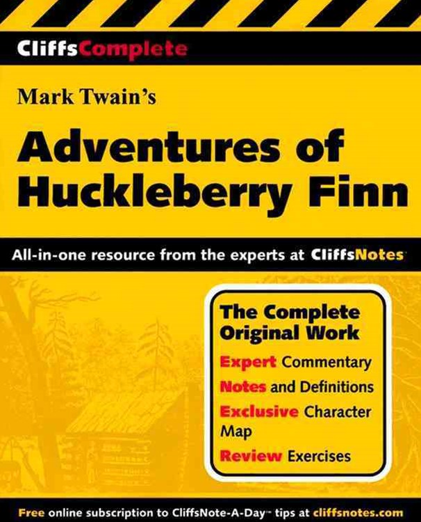 CliffsComplete Twain's The Adventures of Huckleberry Finn
