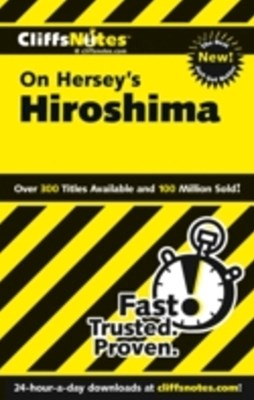 (ebook) CliffsNotes on Hersey's Hiroshima