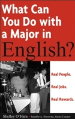 What Can You Do with a Major in English