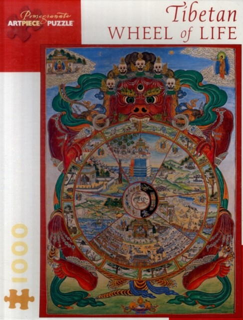 Tibetan Wheel of Life Jigsaw Puzzle (AA553)