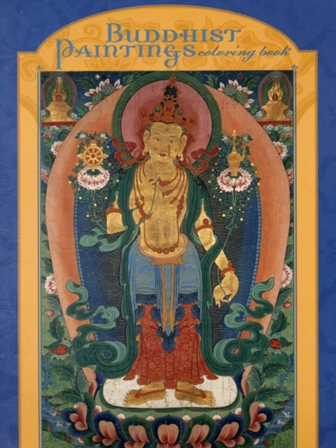 Buddhist Paintings Coloring Book (CB111)