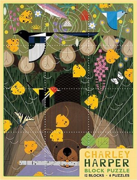 Charley Harper Block Jigsaw Puzzle
