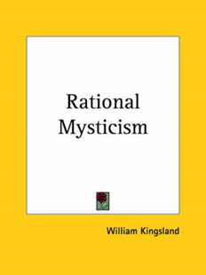 Rational Mysticism by William Kingsland (9780766151635) - PaperBack - Health & Wellbeing Mindfulness