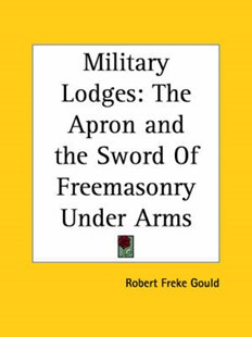 Military Lodges by Robert Freke Gould (9780766154582) - PaperBack - Social Sciences Sociology