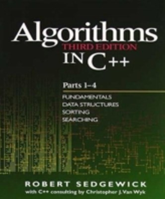 Algorithms in C++, Parts 1-4