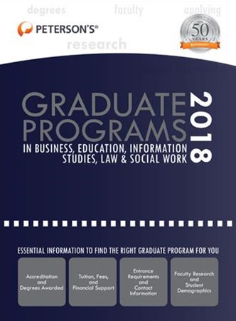Graduate Programs in Business, Education, Information Studies, Law & Social Work 2018