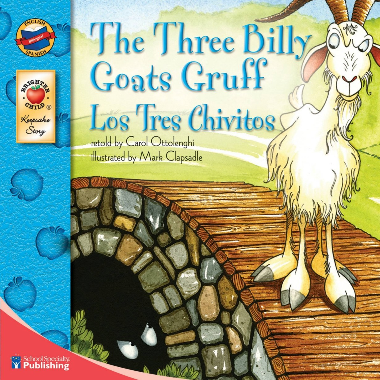 The Three Billy Goats Gruff (Los Tres Chivitos)