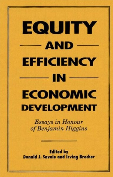 Equity and Efficiency in Economic Development