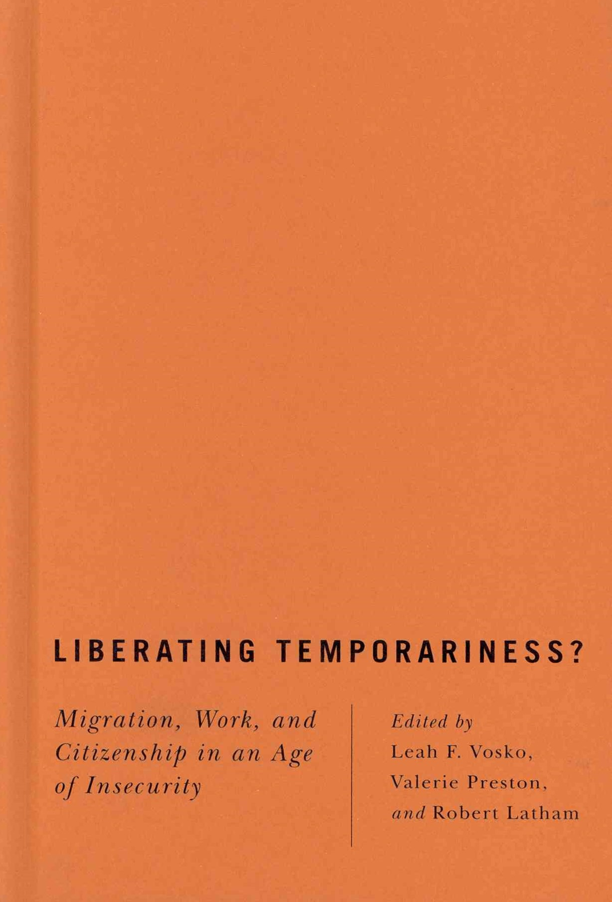 Liberating Temporariness?