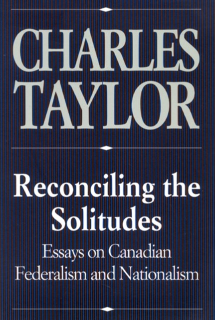 (ebook) Reconciling the Solitudes