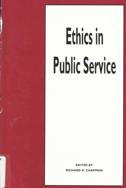 (ebook) Ethics in Public Service