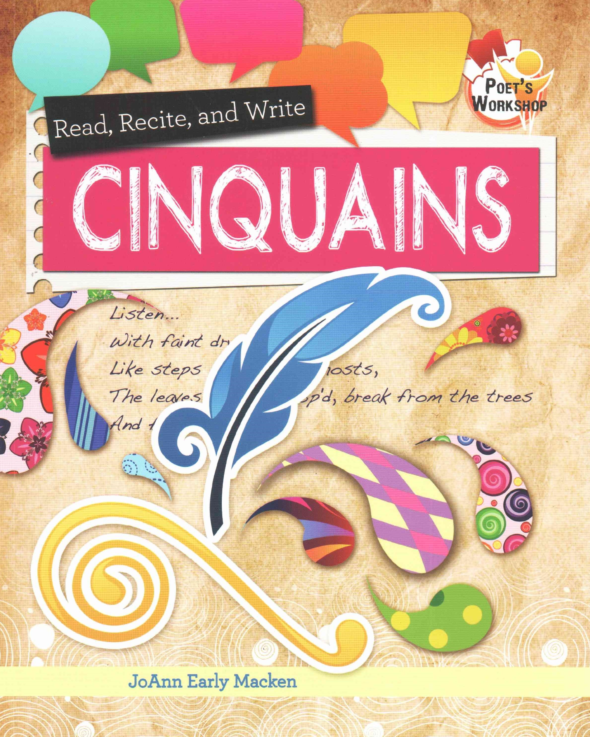 Read Recite and Write Cinquains - Poets Workshop