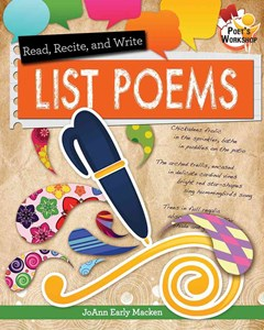 Read, Recite, and Write List Poems