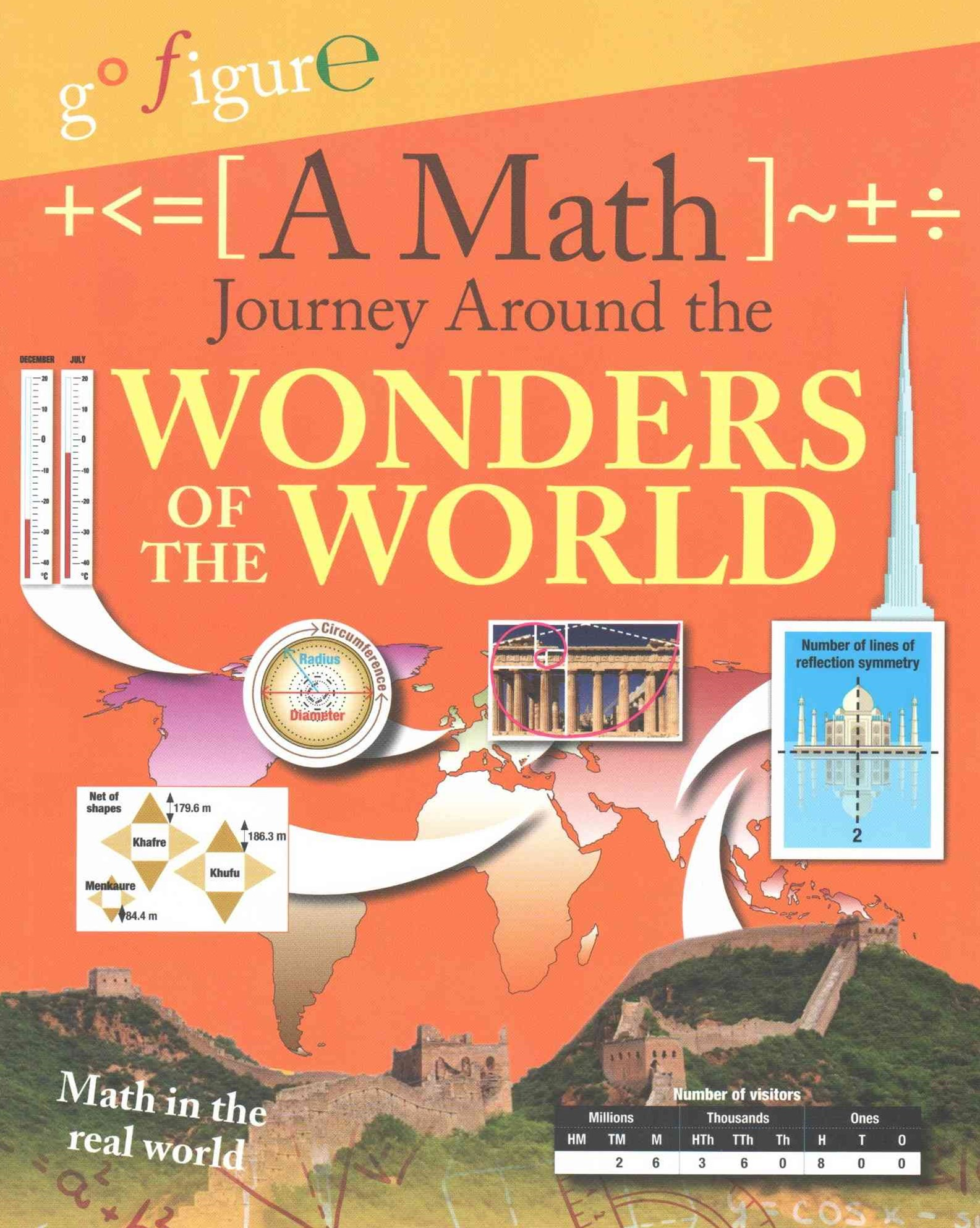 A Math Journey Around the Wonders of the World