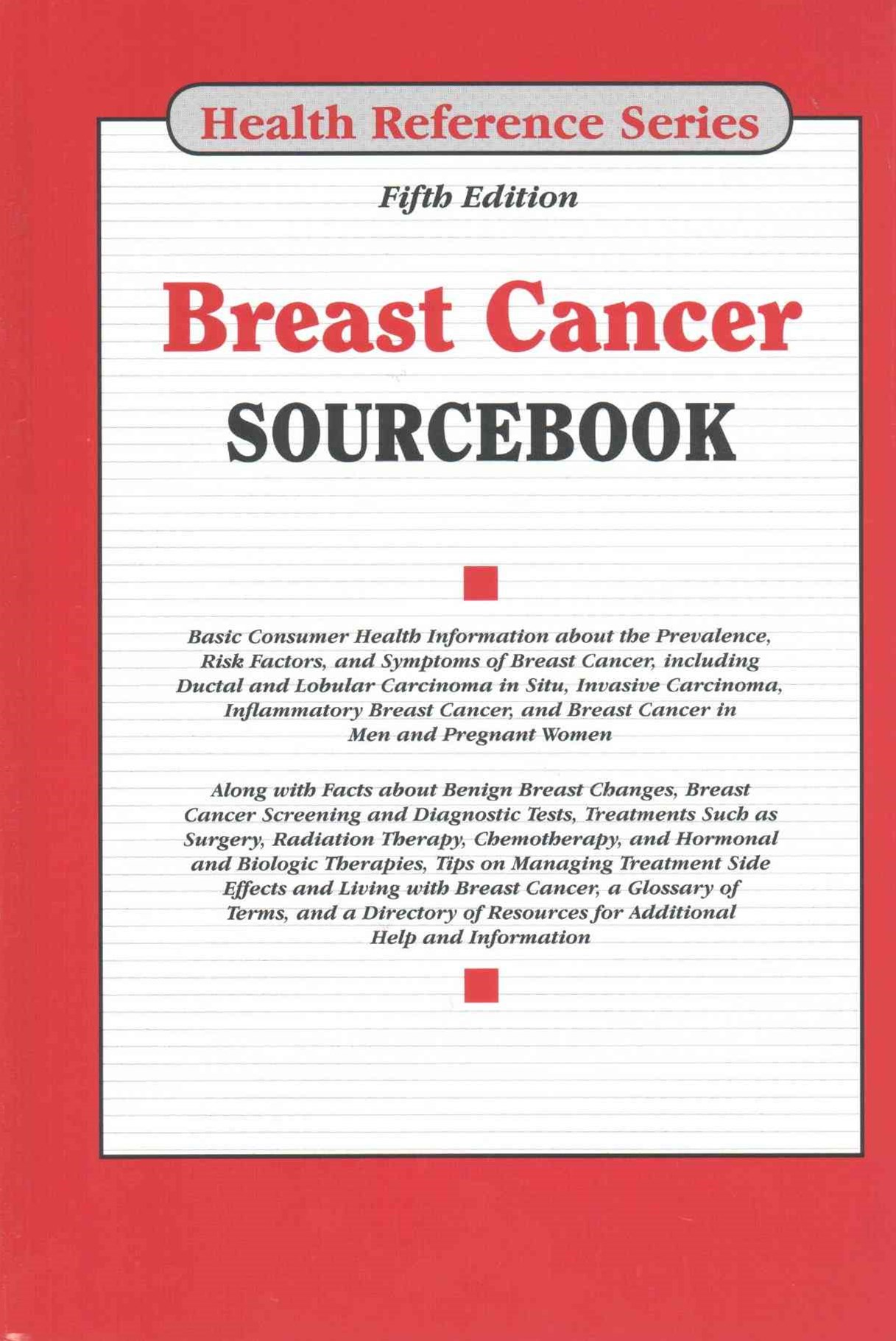Breast Cancer Sourcebook