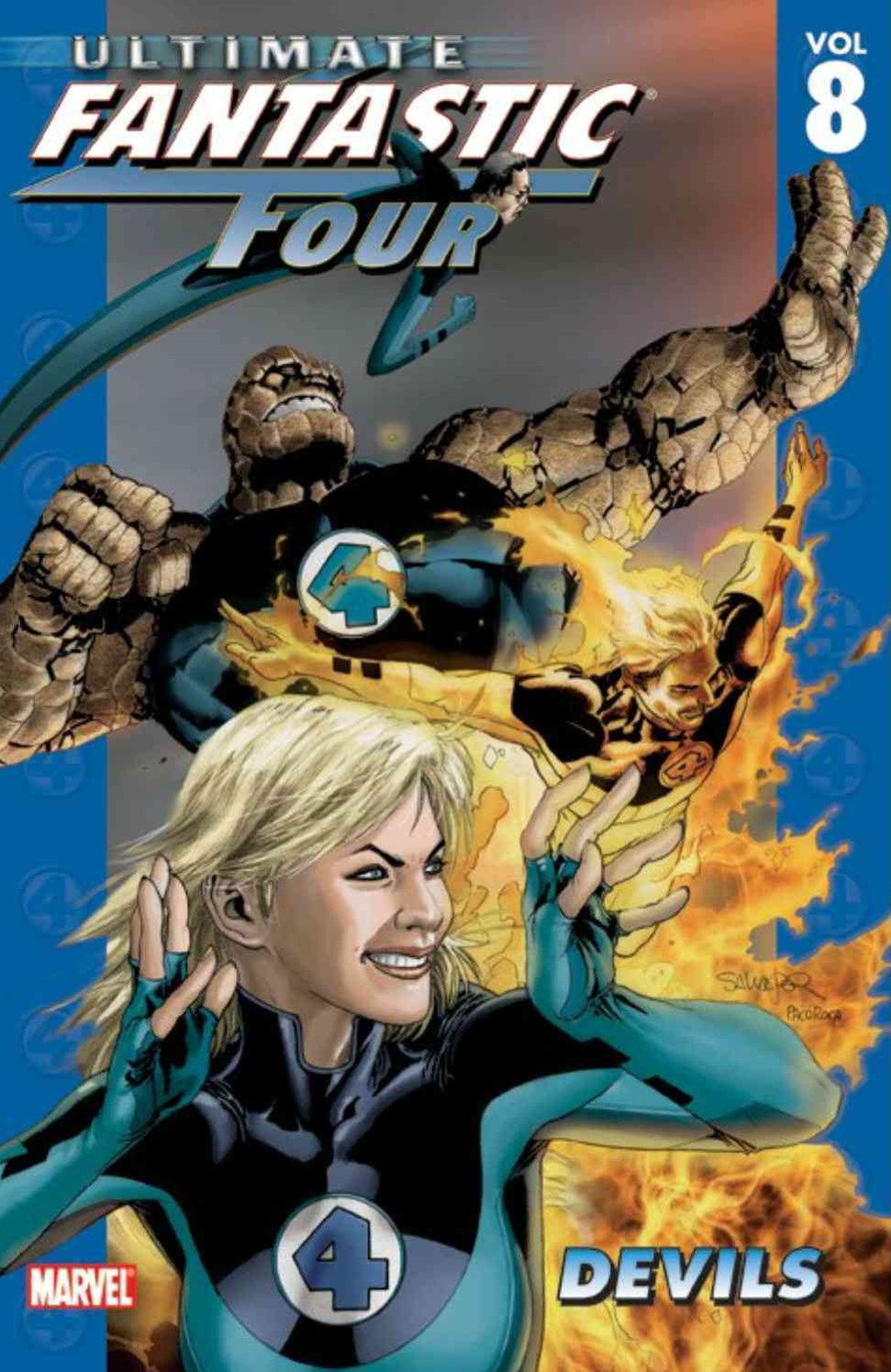Ultimate Fantastic Four - Volume 8