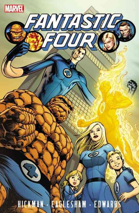 Fantastic Four by Jonathan Hickman - Volume 1