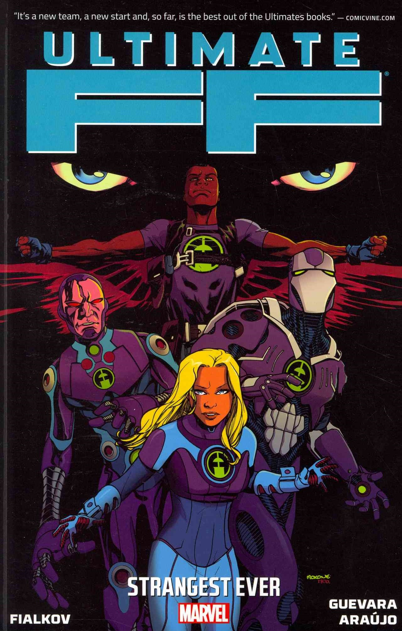 Ultimate Comics: The Ultimate Fantastic Four Volume 1