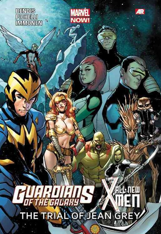 Guardians of the Galaxy All-New X-Men: The Trial of Jean Grey (Marvel Now)