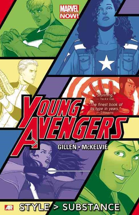 Young Avengers - Style >Substance