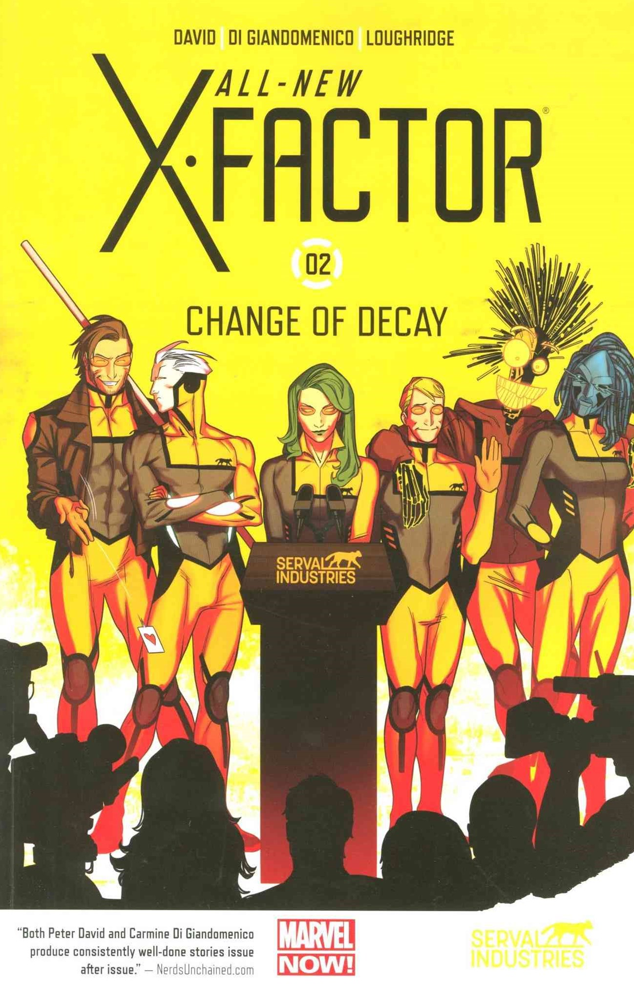AllNew XFactor Volume 2: Change of Decay
