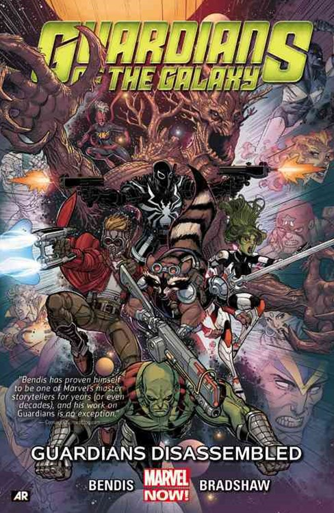 Guardians of the Galaxy Volume 3: Guardians Disassembled (Marvel Now)