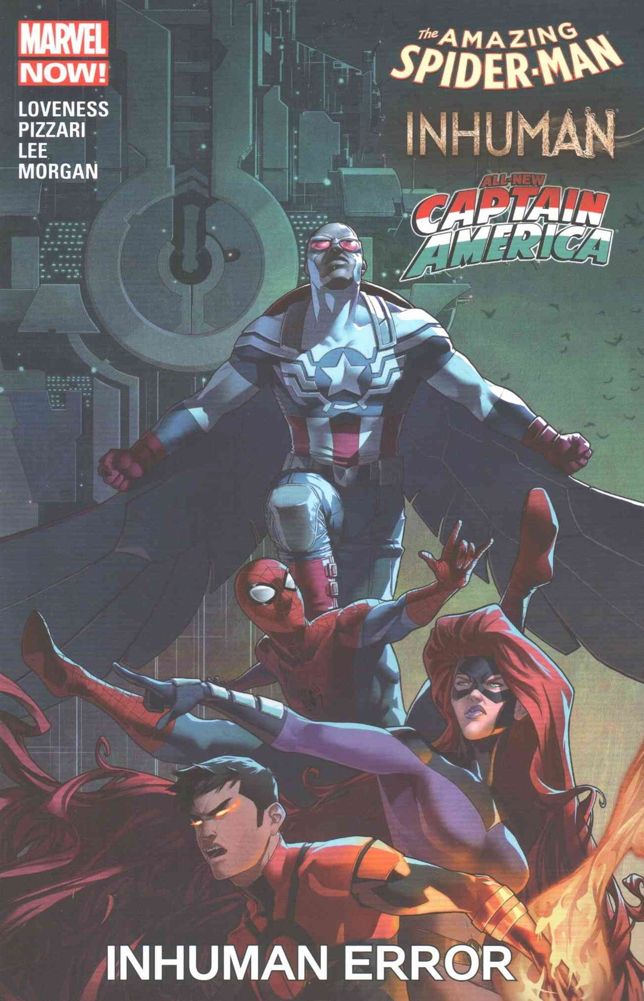 Amazing Spider-Man/Inhumans/All-New Captain America