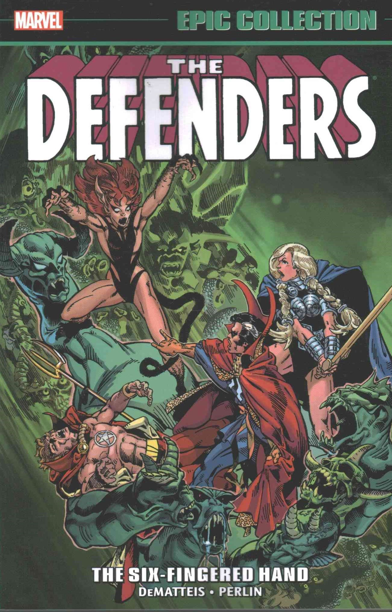 Defenders Epic Collection: The Six-Fingered Hand