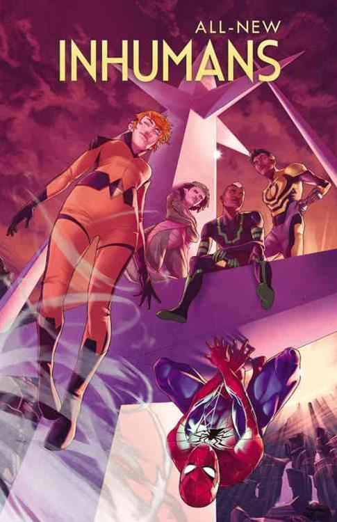 All-New Inhumans Vol. 2: Spiders in the Mist