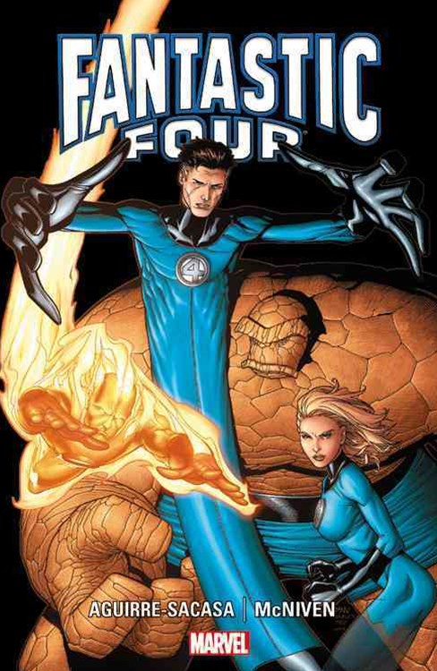 Fantastic Four by Aguirre-Saca and Mcniven