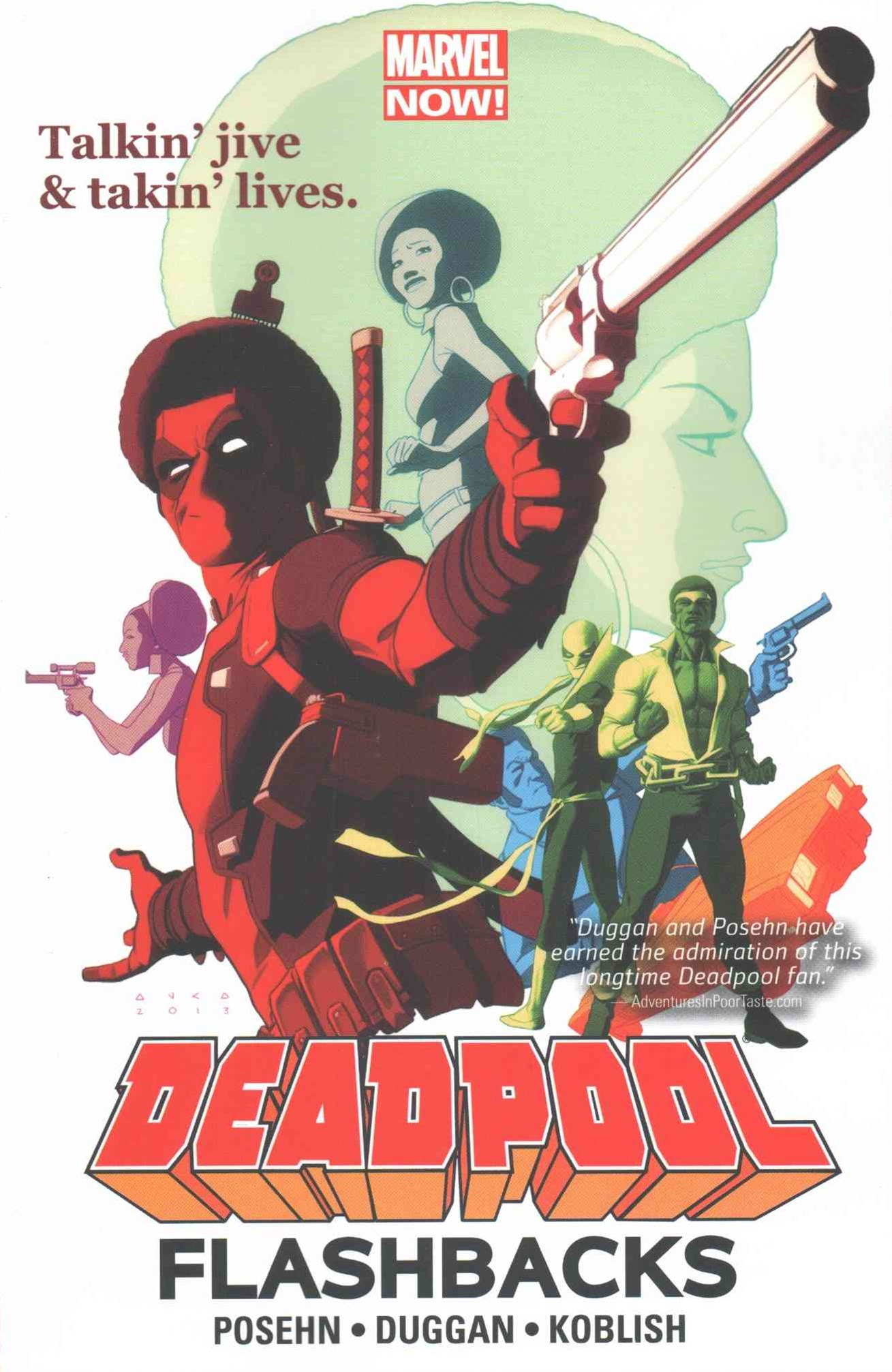 Deadpool: Flashbacks