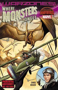 Where Monsters Dwell: The Phantom Eagle Flies the Savage Skies by Comics Marvel, Russ Braun (9780785198925) - PaperBack - Graphic Novels Comics