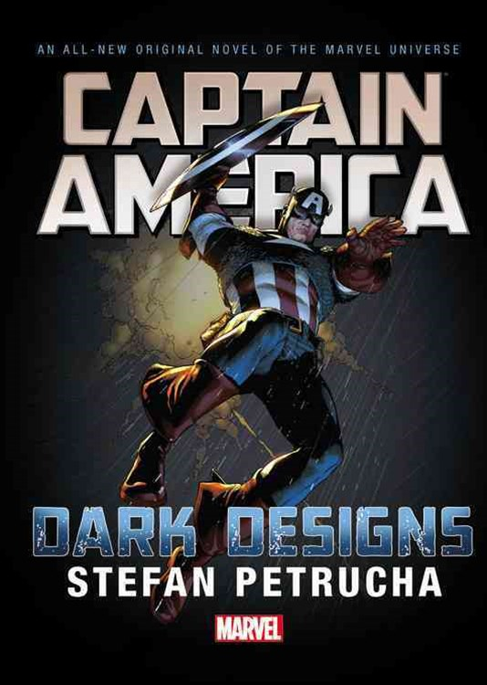 Captain America: Dark Design Prose Novel