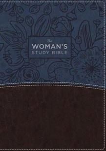 NIV The Woman's Study Bible [Blue/Brown] by Thomas Nelson, Rhonda Kelley (9780785215110) - PaperBack - Religion & Spirituality Christianity