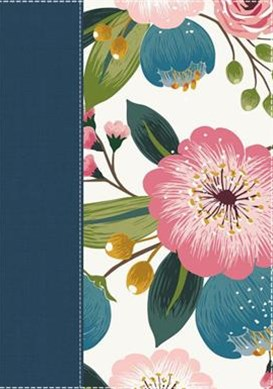 NIV The Woman's Study Bible [Blue Floral]