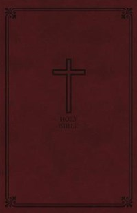 KJV Reference Bible Personal Size Red Letter Edition [Giant Print, Burgundy] by Thomas Nelson (9780785215523) - PaperBack - Religion & Spirituality Christianity